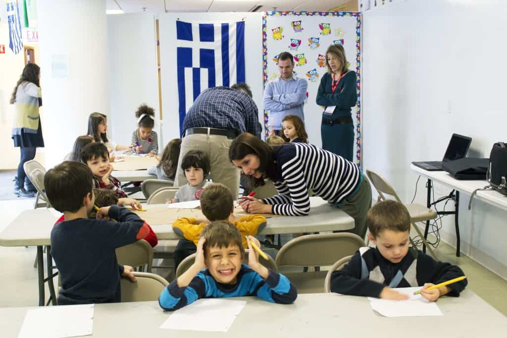 Schools in Greece start their first day of the new school year 2