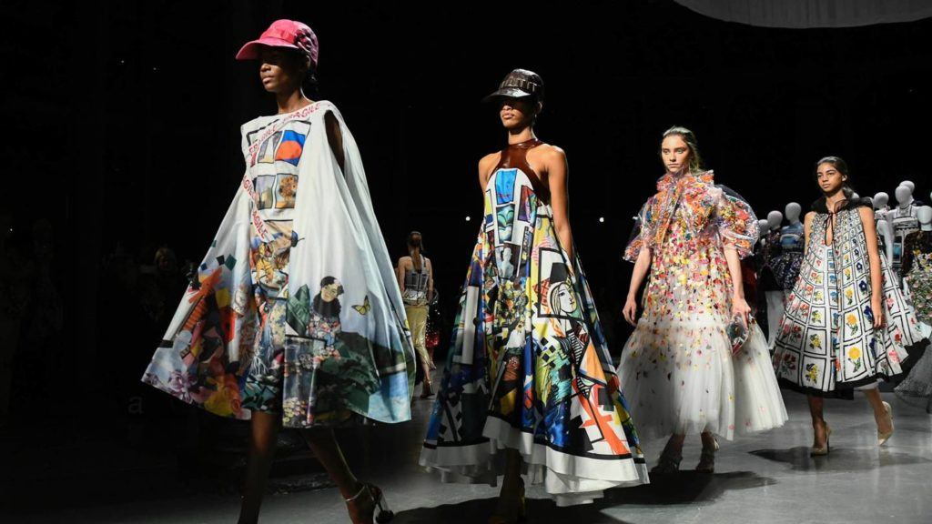 Mary Katrantzou Wows The Fashion World With Her Ss19 Collection At London Fashion Week Pics Greek City Times
