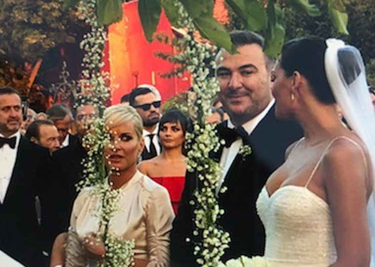 Antonis Remos ties the knot to stunning Yvonne Bosnjak 10