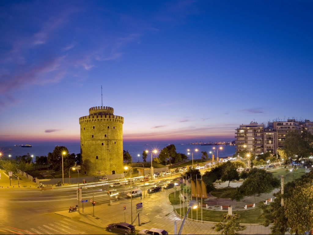 Thessaloniki's iconic White Tower 2