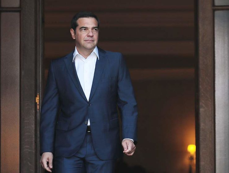 Tsipras meets with big banking bosses in New York 7