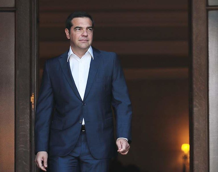 Tsipras meets with big banking bosses in New York 19
