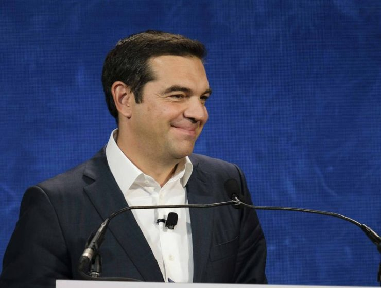 Tsipras praises Greek people in overcoming crisis 11