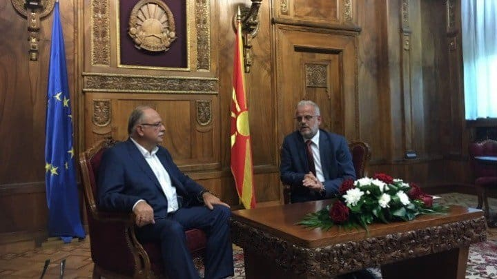 Vice President of the European Parliament meets FYROM's Parliamentary Speaker 25