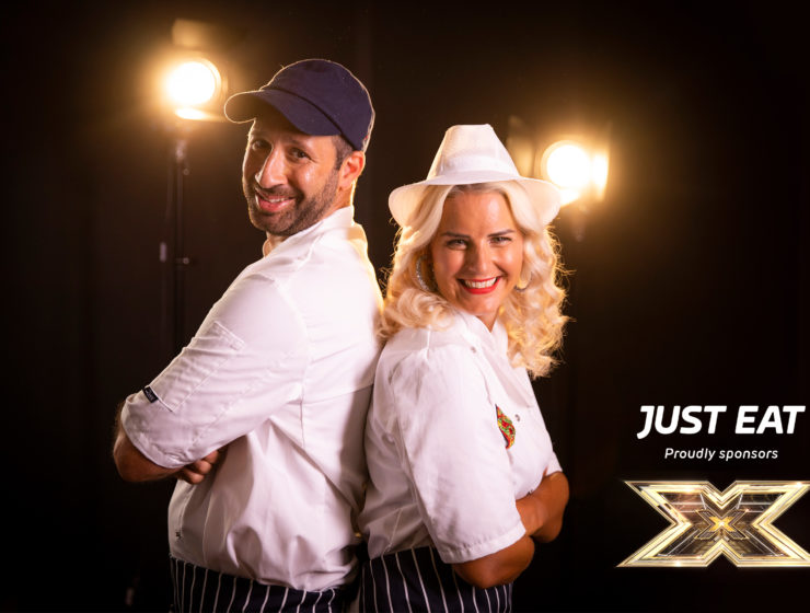 Strad and Gina Kyriacou take on the X Factor Stage 19