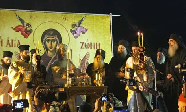 Thessaloniki welcomes the Sacred and Holy Belt of Panagia 3