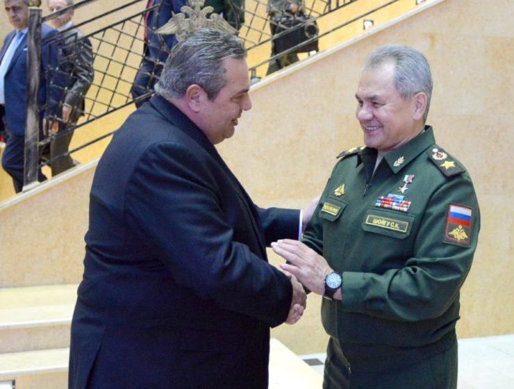 Greek Defence Minister meets with Russian counterpart 24