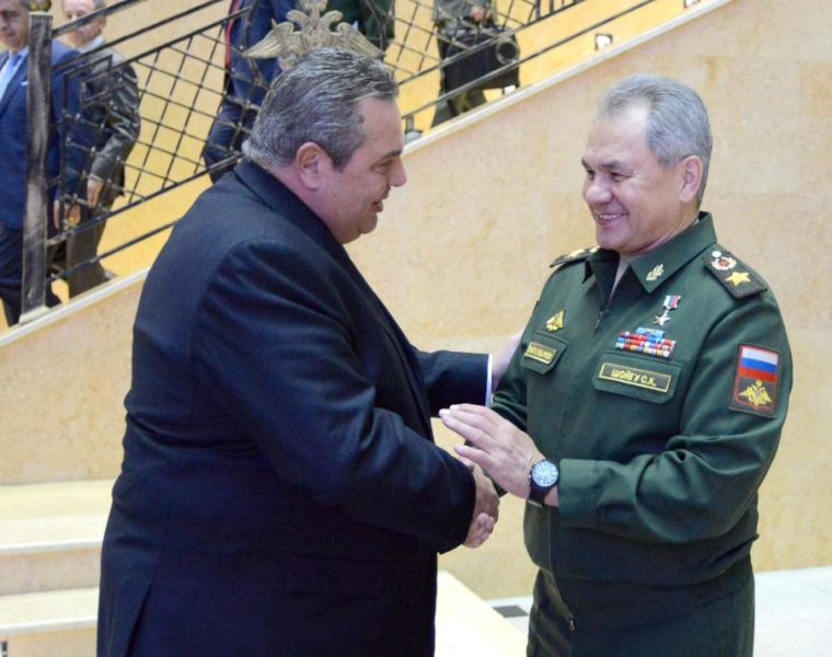 Greek Defence Minister meets with Russian counterpart 17