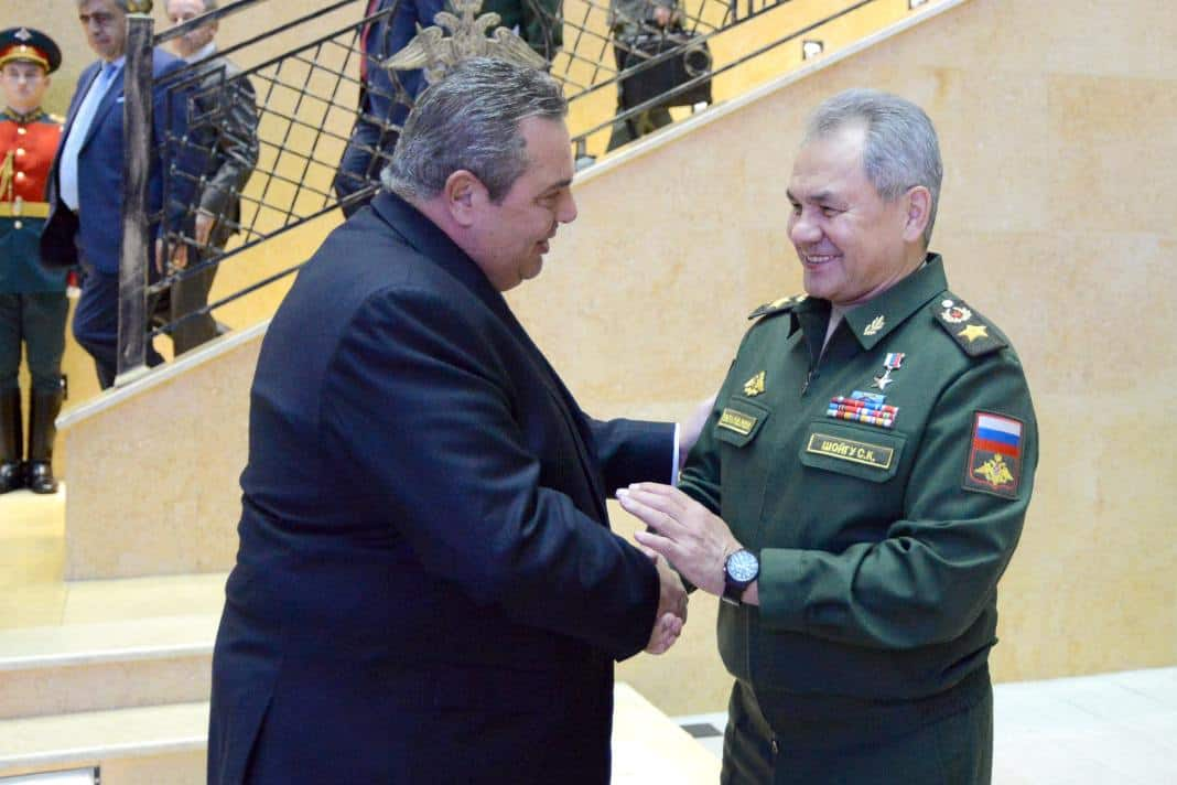 Greek Defence Minister meets with Russian counterpart 3