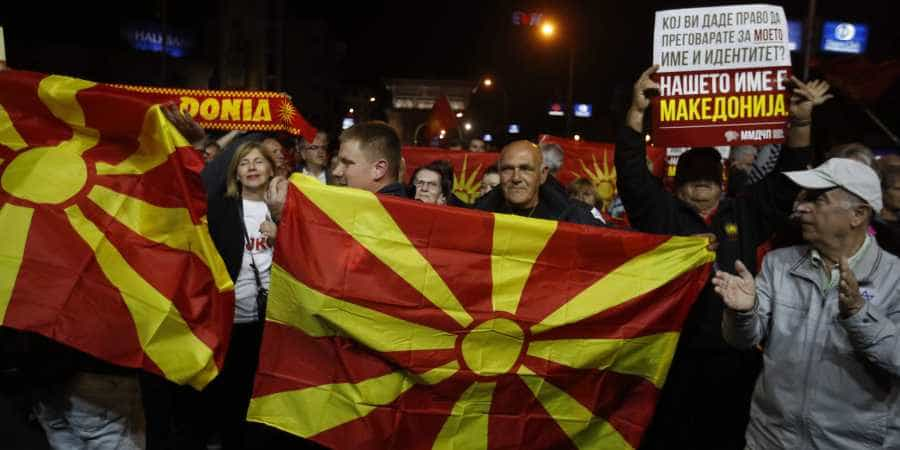 """Skopje's opposition party says name deal with Athens is """"dead"""" 2"""