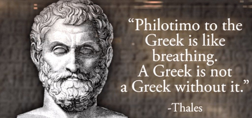 Philotimo, one Greek word packed with so much meaning, it can't be defined 2
