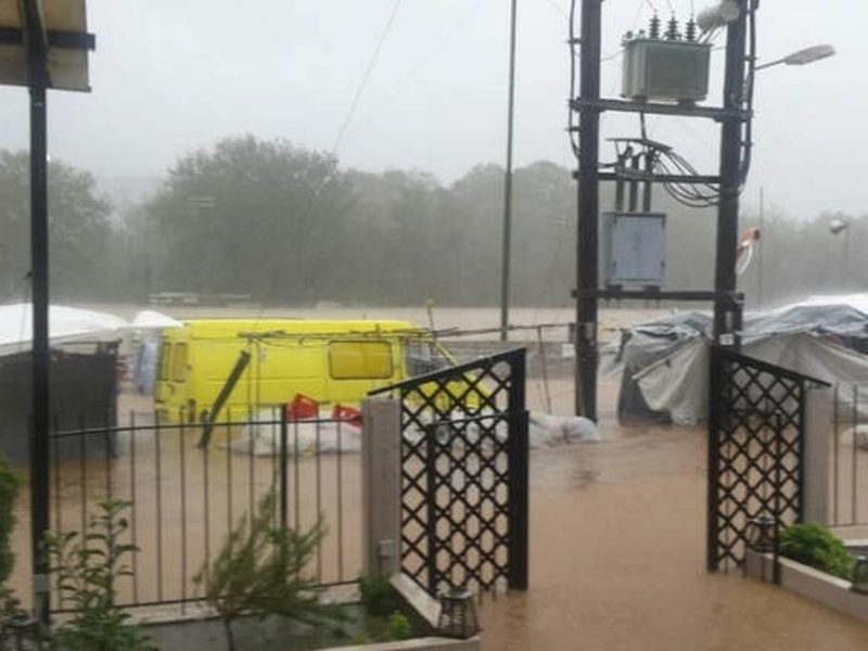 Three people missing after heavy storms in Evia 1