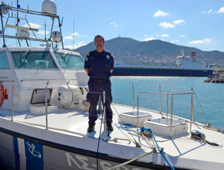 Heroic Greek lieutenant who saved over 5,000 lives, dies aged 44 29