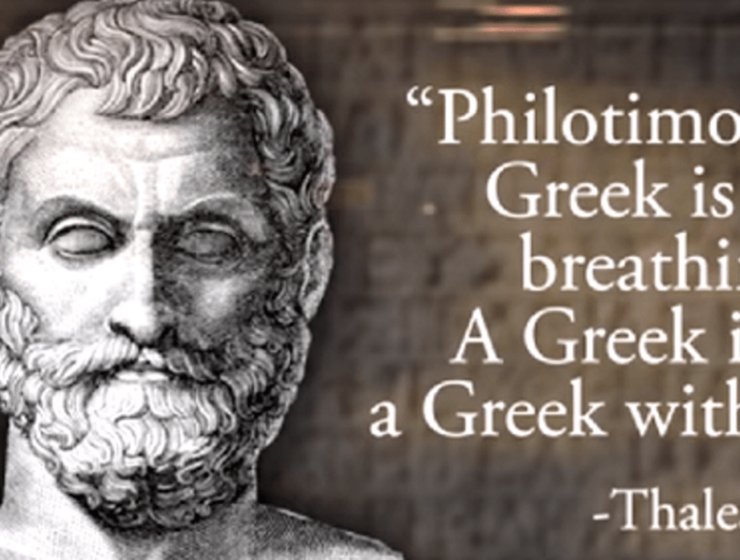 Philotimo, one Greek word packed with so much meaning, it can't be defined 15