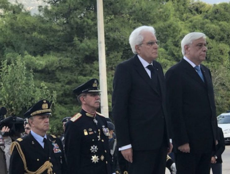 "Greece and Italy's Presidents come together on ""OXI Day"" to say no to Nazism and Fascism 13"