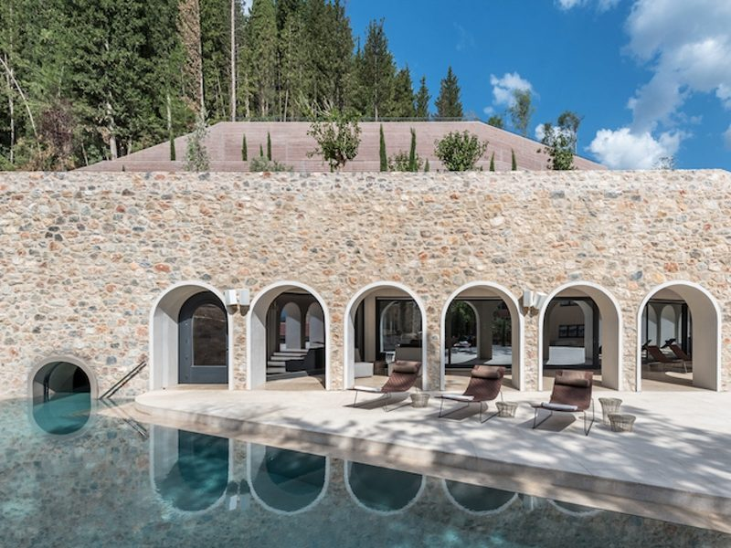 Greece's first holistic wellbeing destination spa opens in the Peloponnese 1