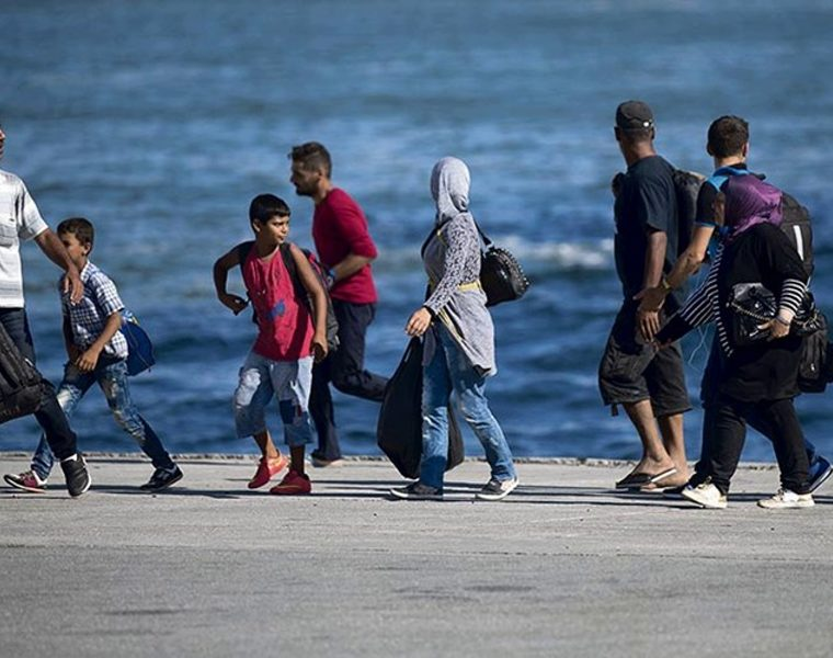 New migrants to Greece being taken to hotels and apartments to avoid overcrowding at camps 20