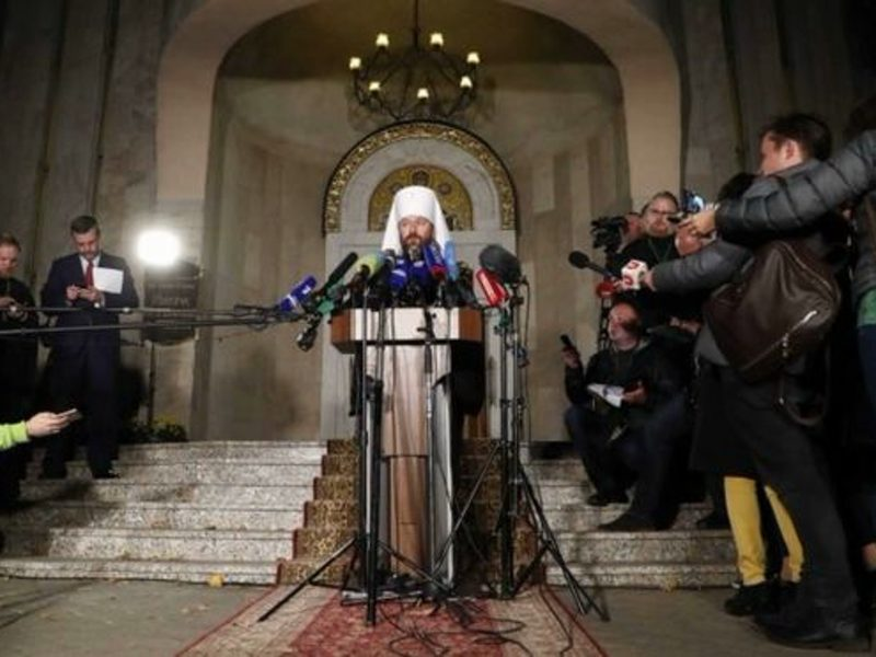 Russian Orthodox Church cuts off all ties with Patriarchate of Constantinople 1