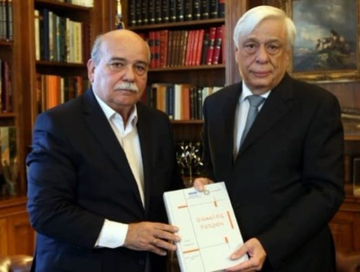 "Much awaited ""Cyprus File"" handed over to Greek President 1"