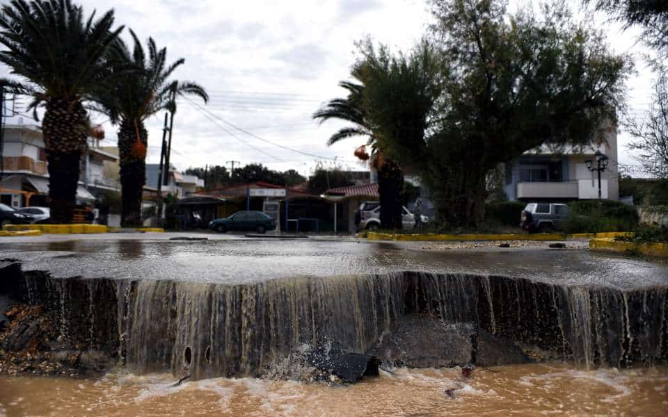 State of Emergency declared for areas of the Peloponnese 2