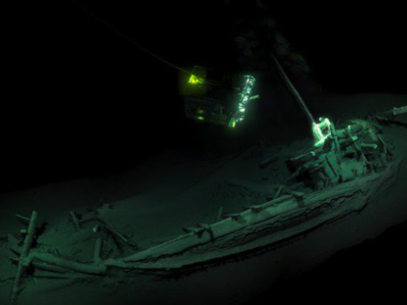 World's oldest intact shipwreck discovered at the bottom of the Black Sea 1