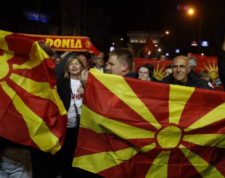 """Skopje's opposition party says name deal with Athens is """"dead"""" 25"""