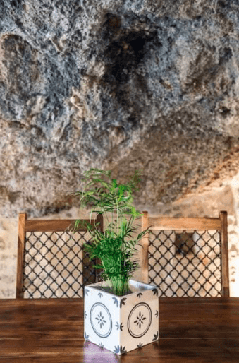Staying at a stunning Cave House in Chania 12