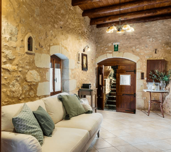 Staying at a stunning Cave House in Chania 11