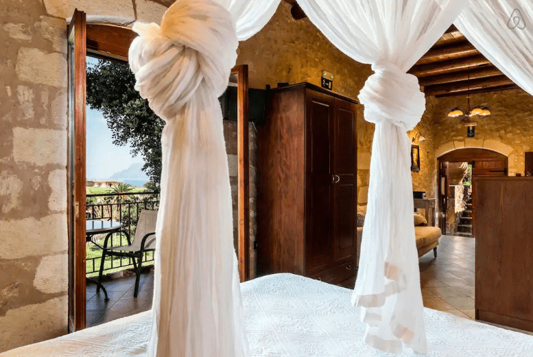 Staying at a stunning Cave House in Chania 9