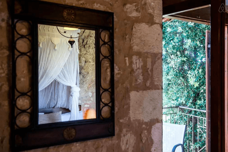 Staying at a stunning Cave House in Chania 10
