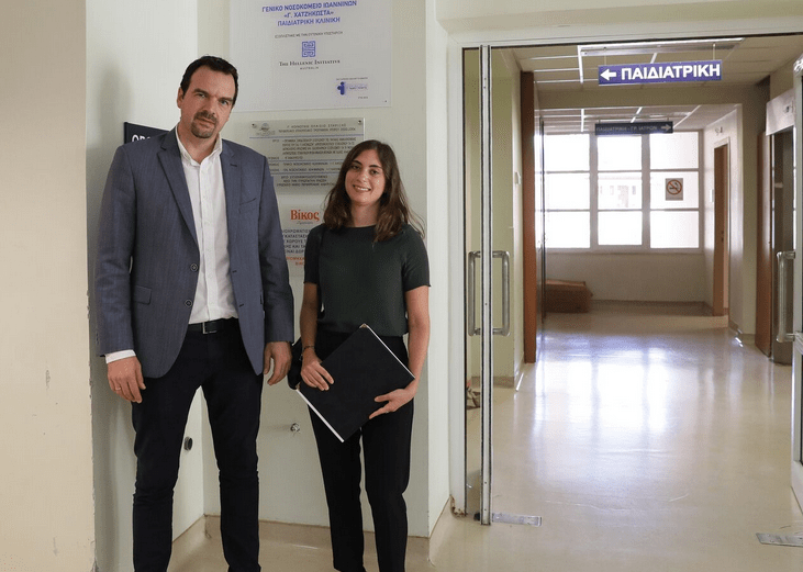 THI helps fund upgrade of Paediatric and Neonatal Clinics at the General Hospital of Ioannina 6
