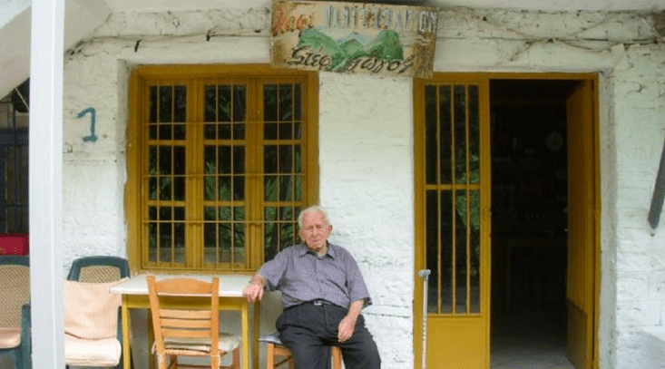 95-year-old Stefanos Gogos, owns oldest Coffee Shop, Ouzeri and Grocery Store in Greece  3