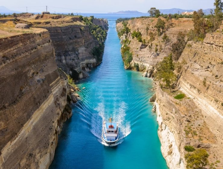 Greece's Iconic Corinth Canal (VIDEO) 12