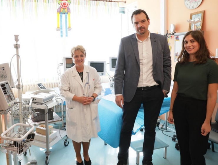 THI helps fund upgrade of Paediatric and Neonatal Clinics at the General Hospital of Ioannina 47
