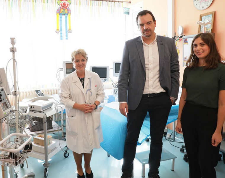 THI helps fund upgrade of Paediatric and Neonatal Clinics at the General Hospital of Ioannina 40