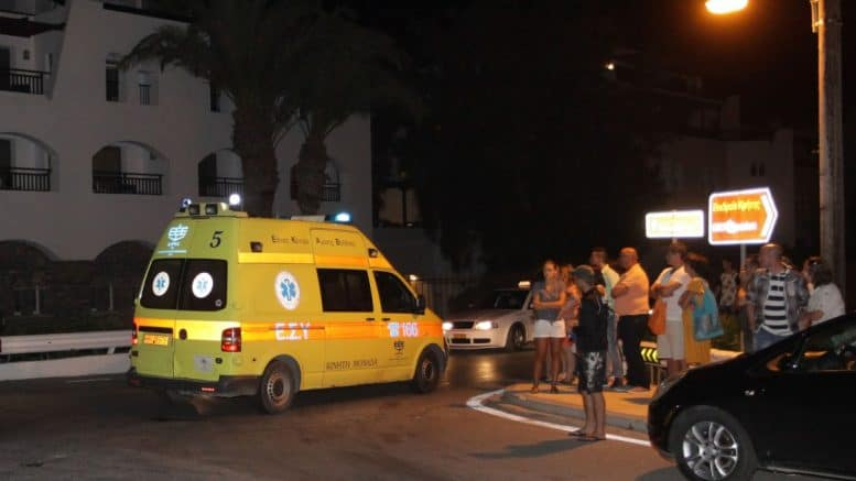 Bloody clash between Greeks and Albanians in Athens 1
