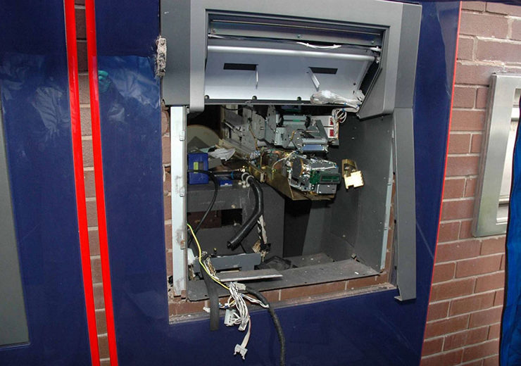Explosion at Bank's ATM 13