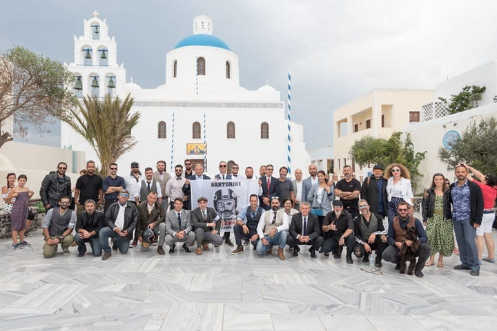 Distinguished Gentleman's Ride 2018 in Santorini 4