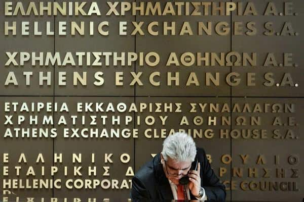 Greek bank shares drop due to overreaction 11