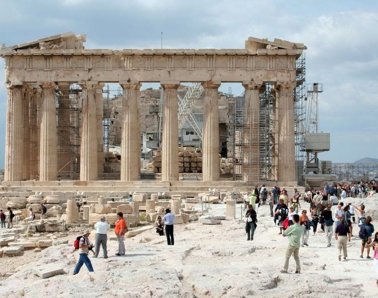 """Greek government accused of ''turning over"""" cultural monuments to creditors 3"""