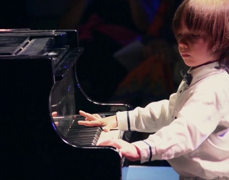 Six-year-old Stelios Kerasidis from Greece, to perform at New York's Carnegie Hall 2
