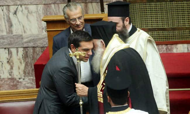 PM Tsipras plans to abolish everything relating to Jesus Christ from GreekConstitution 2