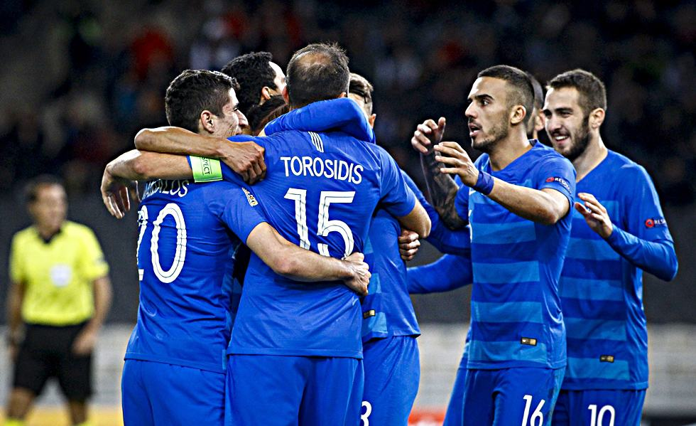 Greece defeats Finland in UEFA Nations League 2