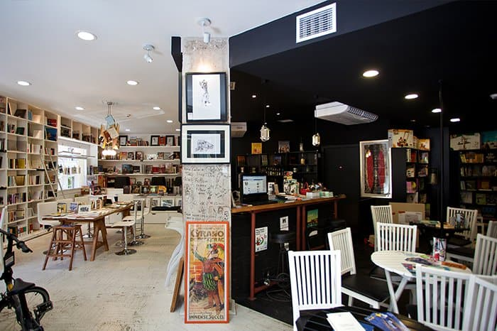 Athens' Top 5 Bookstore Cafes 9