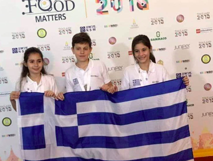 Greek students win Gold at World Robot Olympiad 1