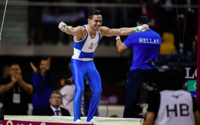 Greece's 'Lord of the Rings' Eleftherios Petrounias wins another Gold 21