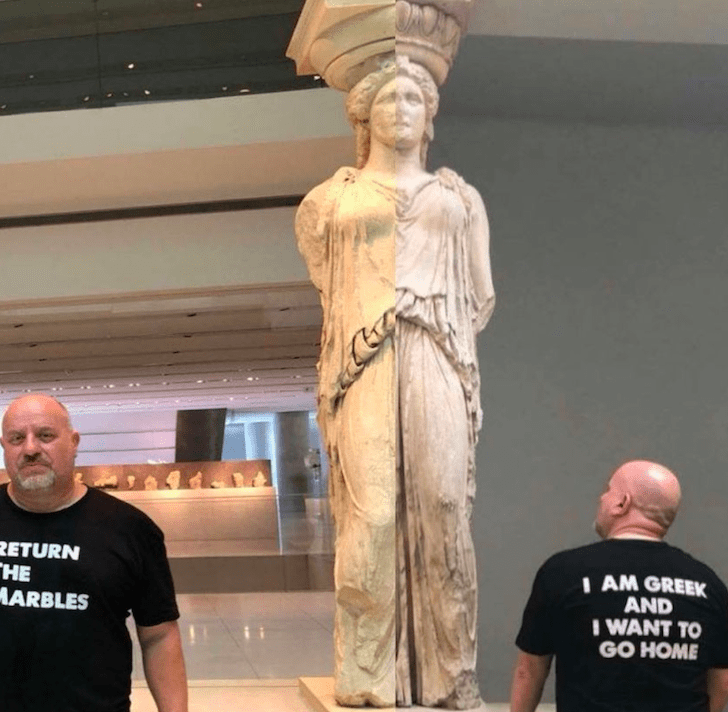 Bringing them home; one man's mission to return the Parthenon Marbles 6