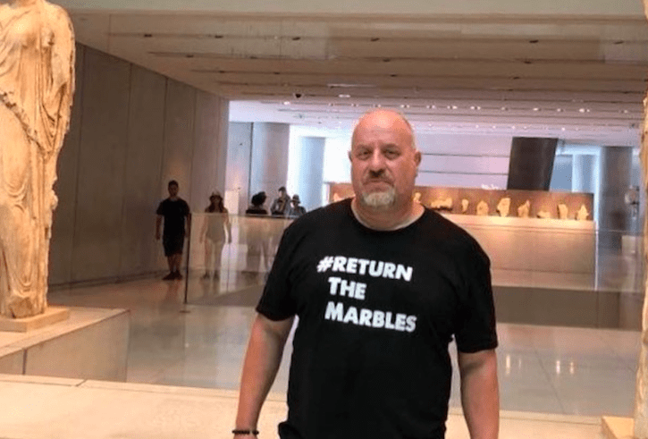 Bringing them home; one man's mission to return the Parthenon Marbles 5