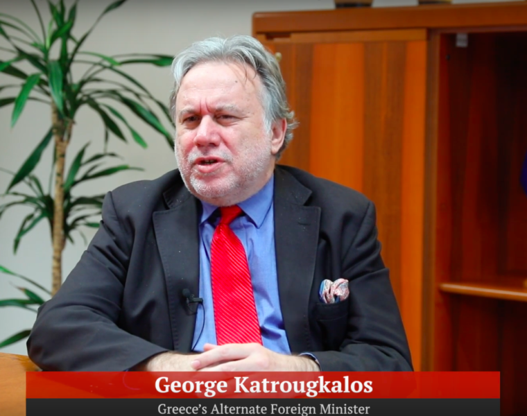 Alternate Foreign Minister vocal on FYROM, Turkey and other thorny regional issues 27