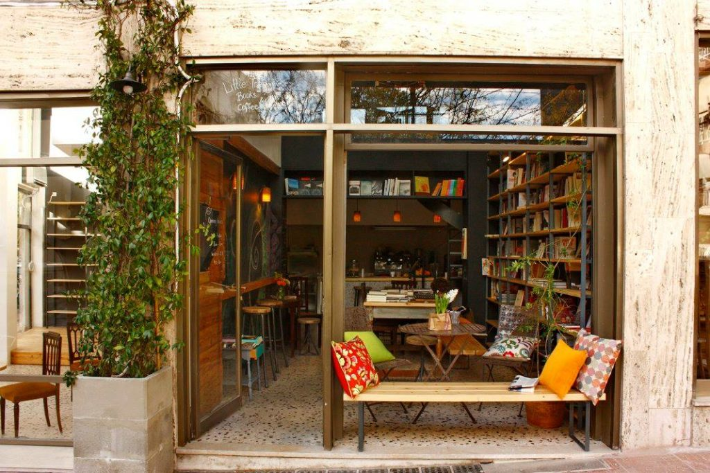 Athens' Top 5 Bookstore Cafes 8